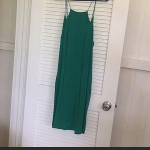 Silk TIBI midi dress